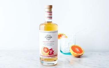 Blanco Tequila Infused with Grapefruit & Hibiscus