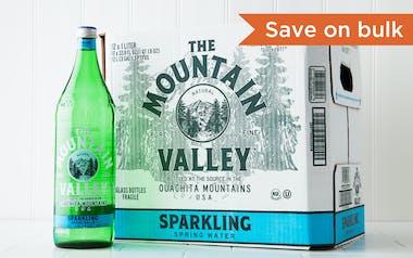 Case of Sparkling Spring Water
