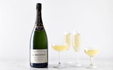 Champagne Le Mesnil Brut Blanc de Blancs Magnum