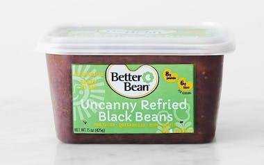 Uncanny Refried Black Beans