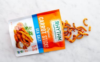 Organic Sea Salt Carrot Sticks
