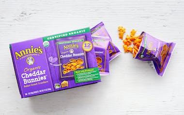 Organic Cheddar Bunnies Snack Packs