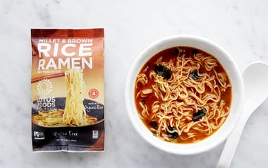 Millet & Brown Rice Ramen with Miso Soup