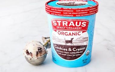 Organic Cookies & Cream Ice Cream