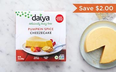 Vegan Pumpkin Spice Cheezecake