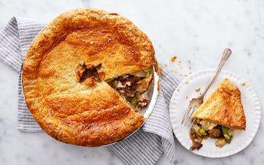 Par Baked Mushroom Pot Pie