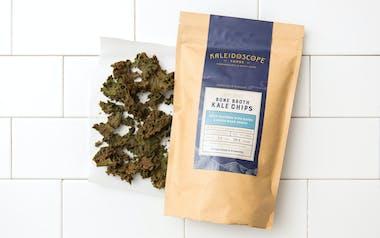 Spicy Seaweed, Date & Bison Bone Broth Kale Chips