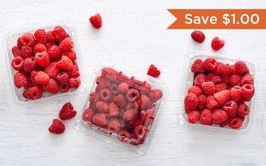 Organic Raspberry 3-Pack (Mexico)