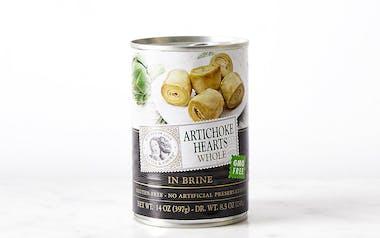 Whole In Brine Artichoke Hearts
