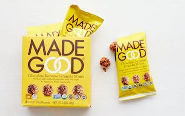 Organic Chocolate Banana Granola Minis