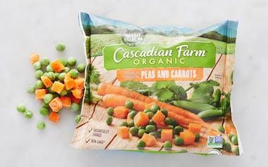 Organic Frozen Sweet Peas & Carrots