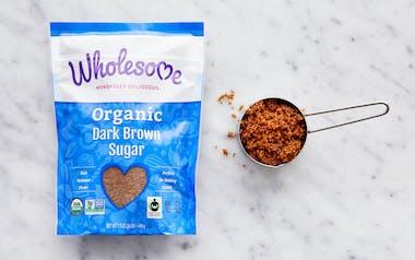 Fair Trade Organic Dark Brown Sugar