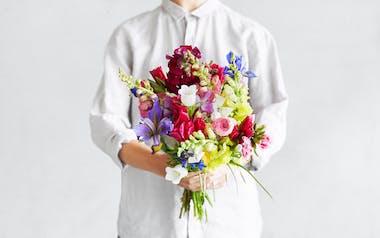 Organic Large Seasonal Bouquet