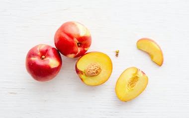 Organic Grand Bright Yellow Nectarine Trio