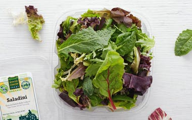 Pre-Washed Organic Saladini