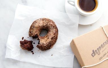 Vegan Spiced Chocolate Donut