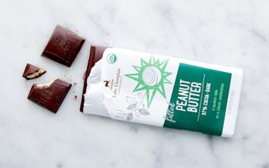 Organic Filled Peanut Butter Dark Chocolate Bar