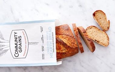 Par Baked 100% Whole Grain Cracked Wheat Hearth Bread