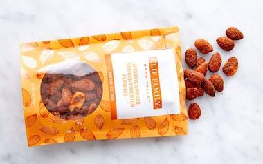 Organic Smoked Spanish Pimenton Almonds
