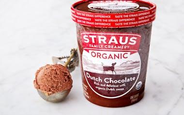 Organic Dutch Chocolate Ice Cream