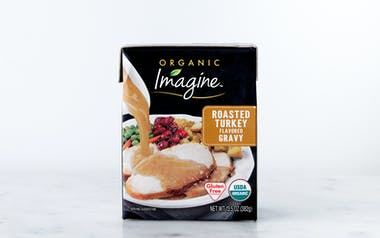 Organic Turkey Flavored Gravy