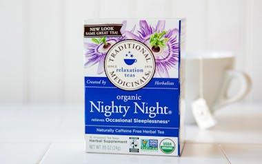 Organic Nighty Night Tea Bags