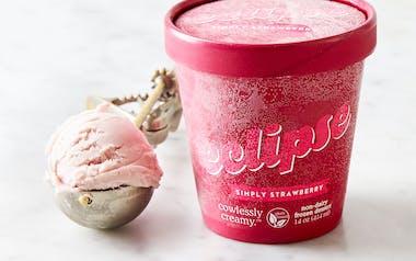 Simply Strawberry Non-Dairy Ice Cream