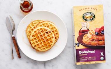 Organic Gluten-Free Buckwheat Wildberry Waffles