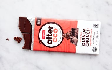 Organic Dark Quinoa Crunch Chocolate Bar (60%)