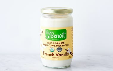 Organic Pasture-Raised Vanilla Yogurt