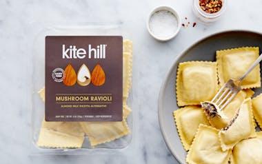 Dairy-Free Mushroom Ravioli