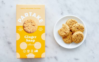 Vegan & Gluten-Free Gingersnap Cookies