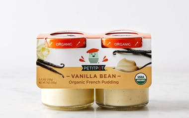 Organic Madagascar Vanilla Pot de Creme 2-pack