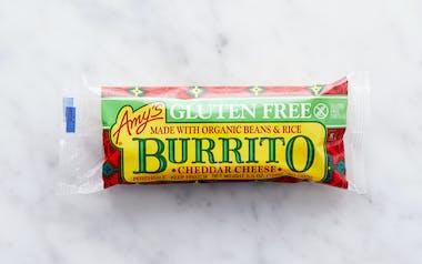 Gluten-Free Bean & Cheese Burrito