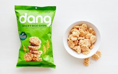 Coconut Sticky Rice Chips