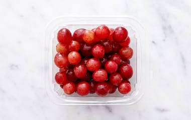 Washed Red Grapes