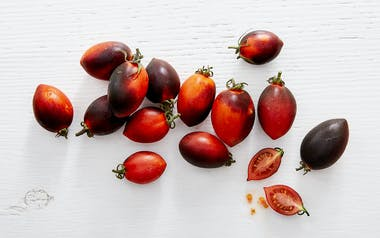 Organic Midnight Roma Tomatoes