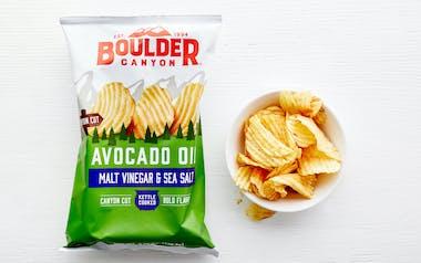 Malt Vinegar & Sea Salt Avocado Oil Potato Chips