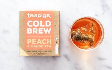 Peach & Mango Cold Brew Tea Bags