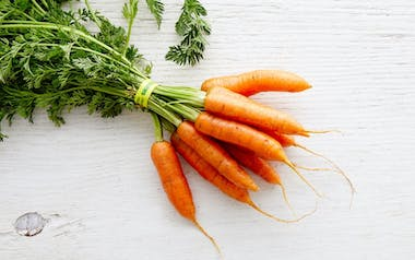 Organic Bunched Baby Carrots