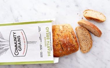 Par Baked 100% Whole Grain Seeded Hearth Bread