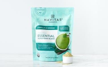 Organic Vanilla & Greens Blend