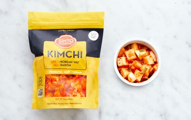 Spicy Red Radish Kimchi