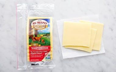 Organic Sliced Sharp Cheddar