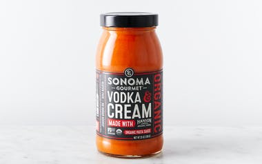 Organic Vodka & Cream Tomato Sauce