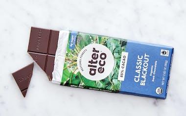 Organic Dark Blackout Chocolate Bar (85%)