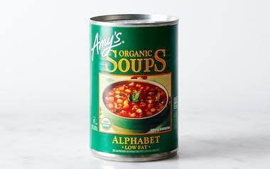 Organic Low-Fat Alphabet Soup