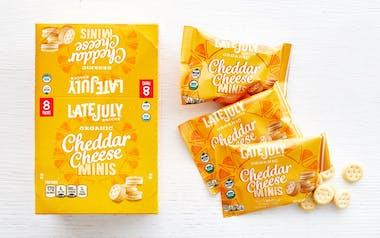 Organic Cheddar Cheese Sandwich Crackers