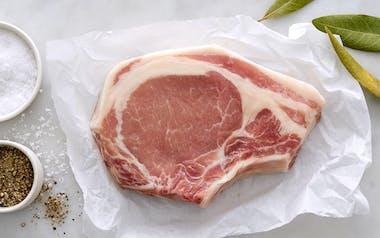 Pastured Bone-In Pork Loin Chops (Frozen)