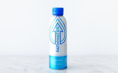 Purified Water in Refillable Aluminum Bottle